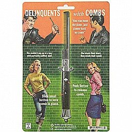 Accoutrements Delinquents Switchblade Comb
