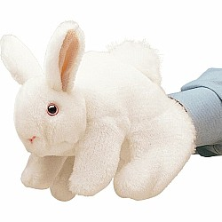 Rabbit, Bunny White Hand Puppet