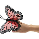 Mini Butterfly, Monarch Finger Puppet