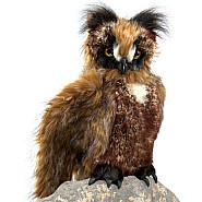 Owl, Great Horned Hand Puppet