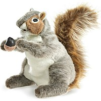 SQUIRREL, GRAY Puppet