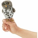 Mini Owl, Spotted Finger Puppet