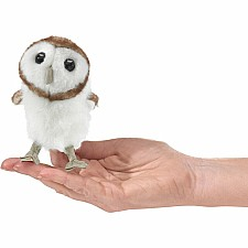 Mini Owl, Barn Finger Puppet