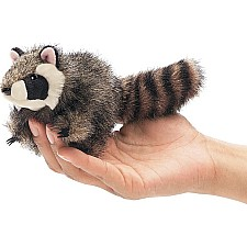 Mini Raccoon Finger Puppet