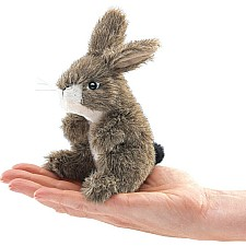Mini Jack Rabbit Finger Puppet