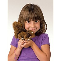 MINI SQUIRREL RED Puppet