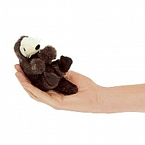 Mini Sea Otter Finger Puppet