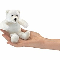 Folkmanis Mini Polar Bear finger puppet