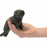 Mini Harbor Seal Finger Puppet