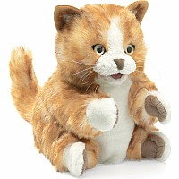 KITTEN, ORANGE TABBY Puppet