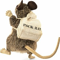 Rat, Pack Hand Puppet