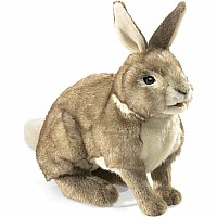 Cottontail Rabbit Hand Puppet