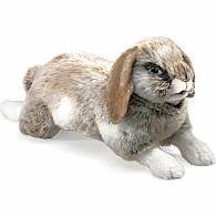Holland Lop Rabbit Hand Puppet