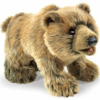 Bear Grizzly Hand Puppet