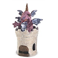 Dragon in Turret Puppet