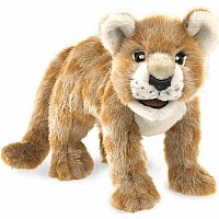 African Lion Cub Puppet