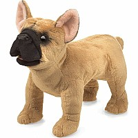 French Bulldog Hand Puppet