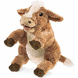 Brown Cow Hand Puppet