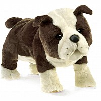 English Bulldog Puppy Puppet