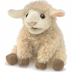 Small Lamb Hand Puppet