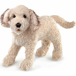 Labradoodle Hand Puppet