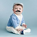 Fred & Friends CHILL, BABY Mustache Pacifier