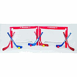 Nhl Mini Folding 2-goal Combo Set