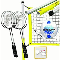 Advanced Badminton and Volleyball Combo Set