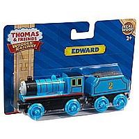 Fisher-Price Thomas the Train Wooden Railway Edward The Blue Engine