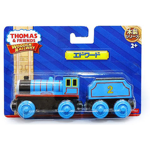 Fisher Price Thomas The Train Wooden Railway Edward The Blue Engine