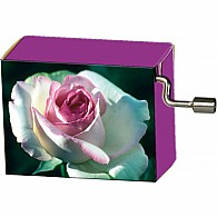 Rose La Vie En Rose Music Box