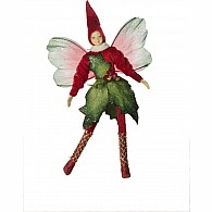 Bendable Fairy Holly Red