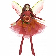 Bendable Fairy Red Rose