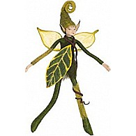 Bendable Elf Green with Wings