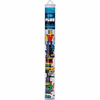 Plus-Plus Tube Basic Mix 70 pcs. - Building Set by Plus Plus (04110)
