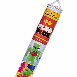 Plus-Plus Tube Neon Mix 70 pcs. - Building Set by Plus Plus (04111)