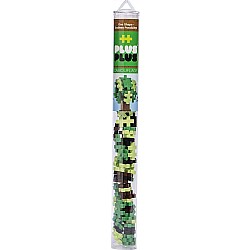 Plus-Plus Tube Camoflauge Mix 70 pcs. - Building Set by Plus Plus (04115)