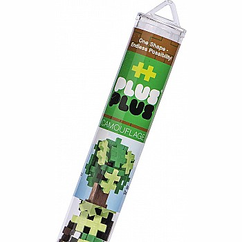 Plus-Plus Tube - Camouflage Mix