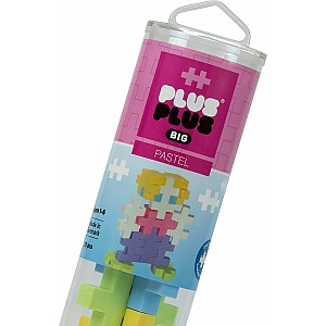 Plus-Plus BIG - 15 pc Tube Pastel