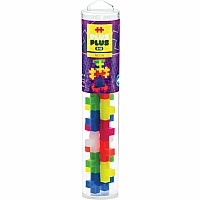 Plus Plus BIG 15 pc Tube - Neon