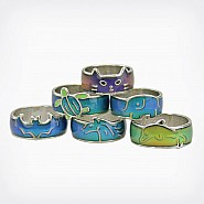 Animal Band Mood Rings