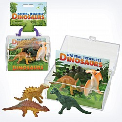 Natural Treasures Dinosaur Box