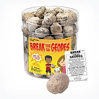 Break-Your-Own Large Geodes