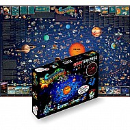 Dino's Solar System Map 500 PC Jigsaw Puzzle