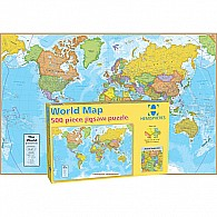 500 pc HEMA World Puzzle