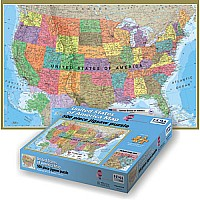 500 pc HEMA USA Puzzle