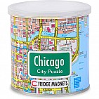 CHICAGO MAGNETIC PUZZLE 100 PC