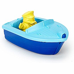 Green toys Launch Boat-blue