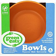 Green Eats Bowls - 2 per set - Orange
