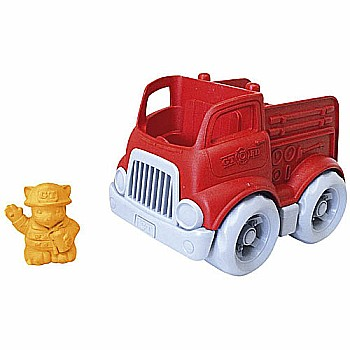 Green Toys Mini Fire Engine with Character